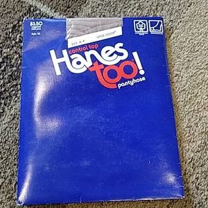 Vintage Hanes too pantyhose new in package